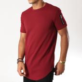 /achat-t-shirts-longs-oversize/uniplay-tee-shirt-oversize-poche-bomber-uy255-bordeaux-153590.html