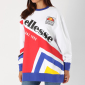 /achat-sweats-col-rond-crewneck/ellesse-sweat-crewneck-oversize-femme-dolomito-bleu-blanc-rouge-153726.html