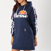 /achat-robes/ellesse-robe-capuche-femme-avec-bandes-claviere-bleu-marine-153800.html