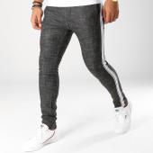/achat-pantalons-carreaux/ikao-pantalon-avec-bandes-p18035-noir-blanc-153655.html