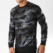/achat-sweats-col-rond-crewneck/ikao-sweat-crewneck-f220-noir-gris-camouflage-153745.html