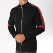 /achat-vestes/ikao-veste-zippee-avec-bandes-f210-noir-153782.html