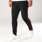/achat-pantalons-joggings/lbo-pantalon-jogging-avec-bandes-noir-et-rouge-509-noir-154001.html