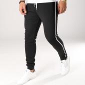 /achat-pantalons-joggings/lbo-pantalon-jogging-avec-bandes-noir-et-blanche-510-noir-154002.html