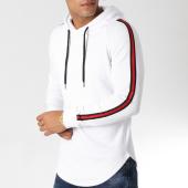 /achat-sweats-capuche/lbo-sweat-capuche-oversize-avec-bandes-498-blanc-noir-rouge-154006.html