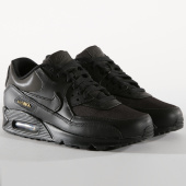 /achat-baskets-basses/nike-baskets-air-max-90-premium-700155-011-black-metallic-gold-153992.html
