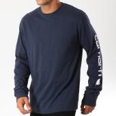 /achat-t-shirts-manches-longues/carhartt-tee-shirt-manches-longues-ek231-bleu-marine-154113.html