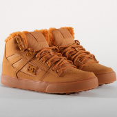 /achat-baskets-montantes/dc-shoes-baskets-pure-high-top-wnt-adys400047-wheat-white-154014.html