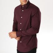 /achat-chemises-manches-longues/g-star-chemise-manches-longues-core-d03691-7085-bordeaux-154079.html