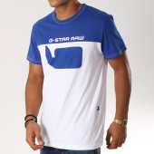 /achat-t-shirts/g-star-tee-shirt-graphic-10-d12578-336-bleu-roi-blanc-154205.html