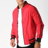 /achat-vestes/john-h-veste-zippee-avec-bandes-362-rouge-154122.html