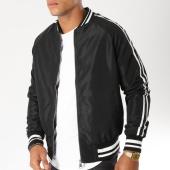 /achat-vestes/john-h-veste-zippee-avec-bandes-362-noir-154137.html