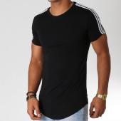 /achat-t-shirts-longs-oversize/john-h-tee-shirt-oversize-avec-bandes-612-noir-blanc-154173.html