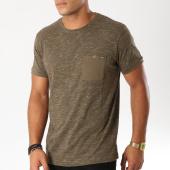 /achat-t-shirts-poche/mz72-tee-shirt-poche-trama-vert-kaki-chine-154045.html