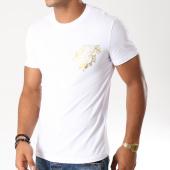 /achat-t-shirts/versace-jeans-tee-shirt-b3gsb76i-blanc-dore-154075.html