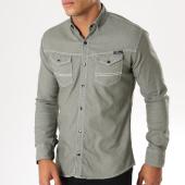 /achat-chemises-manches-longues/classic-series-chemise-manches-longues-16195-vert-kaki-154267.html