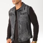 /achat-vestes-jean/classic-series-veste-jean-sans-manches-6328-gris-anthracite-154283.html