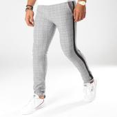 /achat-pantalons-carreaux/classic-series-pantalon-carreaux-avec-bandes-12-gris-bleu-marine-noir-154325.html