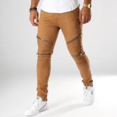 /achat-jeans/john-h-jean-slim-avec-zips-a31-camel-154222.html