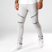 /achat-jeans/john-h-jean-slim-avec-zips-a316-gris-154224.html