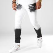 /achat-jeans/john-h-jean-slim-75230-blanc-noir-154227.html