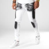 /achat-jeans/john-h-jean-slim-75280-blanc-noir-154229.html