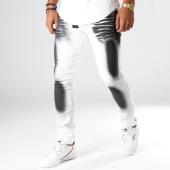 /achat-jeans/john-h-jean-slim-75290-blanc-noir-154230.html