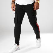 /achat-jogger-pants/john-h-jogger-pant-323-noir-rouge-154247.html