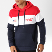 /achat-sweats-capuche/nasa-sweat-capuche-chest-bleu-marine-blanc-rouge-154349.html