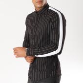 /achat-chemises-manches-longues/uniplay-chemise-manches-longues-avec-bandes-c01-noir-154411.html