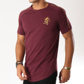 /achat-t-shirts-longs-oversize/gym-king-tee-shirt-oversize-gold-edition-bordeaux-dore-154624.html