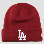 /achat-bonnets/new-era-bonnet-logo-essential-los-angeles-dodgers-80635833-bordeaux-154586.html