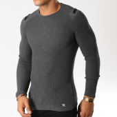 /achat-pulls/paname-brothers-pull-110-gris-anthracite-chine-154557.html