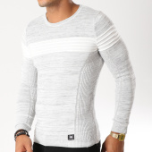 /achat-pulls/paname-brothers-pull-102-gris-clair-chine-154558.html