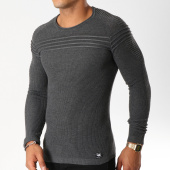 /achat-pulls/paname-brothers-pull-103-gris-anthracite-chine-154571.html