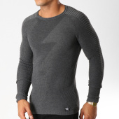 /achat-pulls/paname-brothers-pull-112-gris-anthracite-chine-154578.html