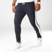 /achat-pantalons-joggings/produkt-pantalon-jogging-avec-bandes-viy-bleu-marine-blanc-154551.html