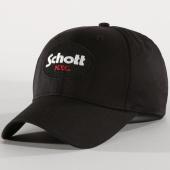 /achat-casquettes-de-baseball/schott-nyc-casquette-circle-noir-154585.html