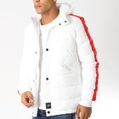 /achat-doudounes/sixth-june-doudoune-avec-bandes-m3323sow-blanc-rouge-154531.html