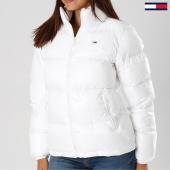 /achat-doudounes/tommy-hilfiger-jeans-doudoune-femme-classics-5163-blanc-154648.html