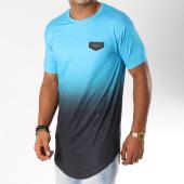 /achat-t-shirts-longs-oversize/gianni-kavanagh-tee-shirt-oversize-splats-bleu-clair-degrade-noir-154759.html