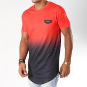 /achat-t-shirts-longs-oversize/gianni-kavanagh-tee-shirt-oversize-splats-rouge-degrade-noir-154760.html