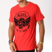 /achat-t-shirts/von-dutch-tee-shirt-death-rouge-noir-154653.html