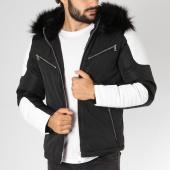 /achat-blousons/mtx-blouson-fourrure-s731-noir-blanc-noir-154812.html