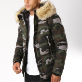 /achat-blousons/mtx-blouson-fourrure-s511-vert-kaki-gris-camouflage-154824.html