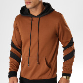 /achat-sweats-capuche/terance-kole-sweat-capuche-131821-camel-noir-155210.html