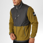 /achat-vestes/the-north-face-veste-zippee-polaire-denali-fleece-381m-vert-kaki-gris-anthracite-155266.html