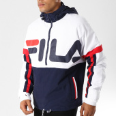 /achat-vestes/fila-veste-outdoor-riker-foldaway-684421-bleu-marine-blanc-rouge-155403.html