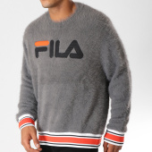 /achat-sweats-col-rond-crewneck/fila-sweat-crewneck-fourrure-cash-684424-gris-anthracite-155407.html