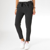 /achat-pantalons-carreaux/girls-only-pantalon-raye-femme-344r-noir-blanc-155384.html
